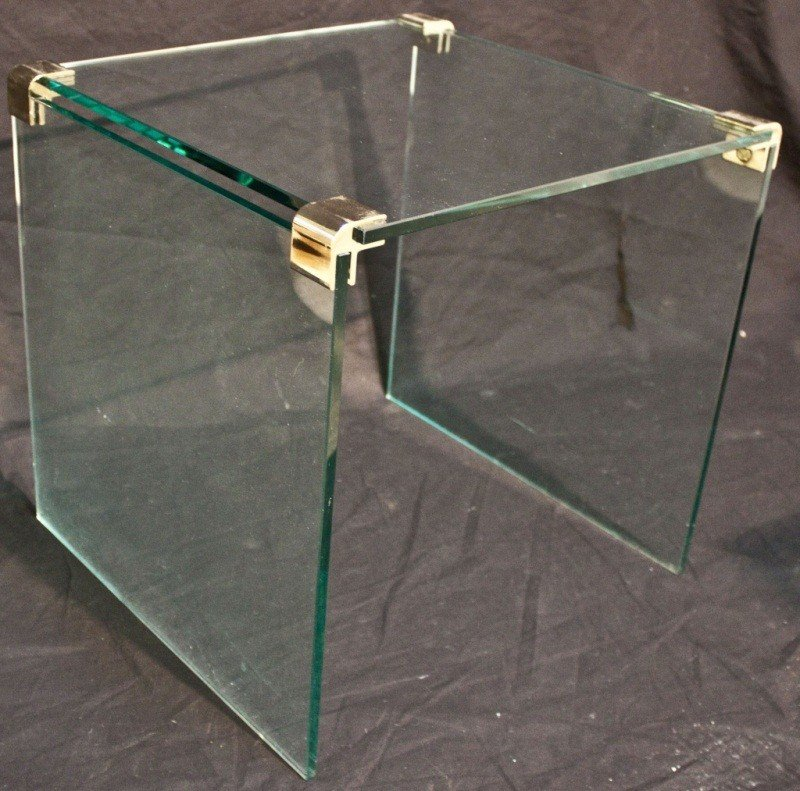 3: Pace Glass + Brass Side Table