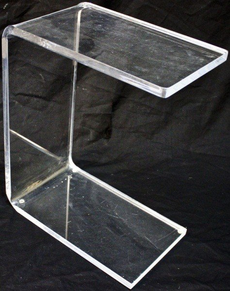 4: Mid Century Modern Lucite Side Table