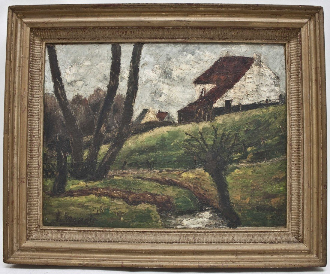 89: Irving Manoir (American, 1891-1982) Oil On Canvas
