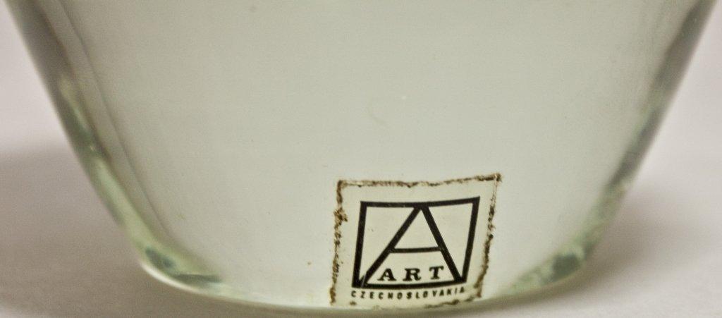 11: Czech Metallic Art Glass Paperweight - 4