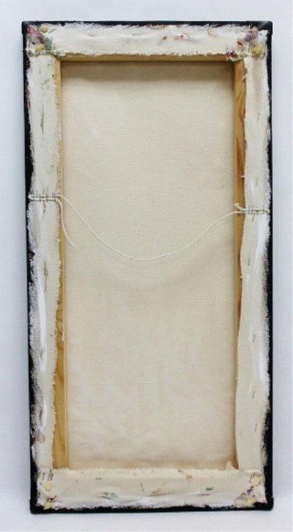 "27: Jan Wenczka Oil on Canvas. ""Faces"" - 5"