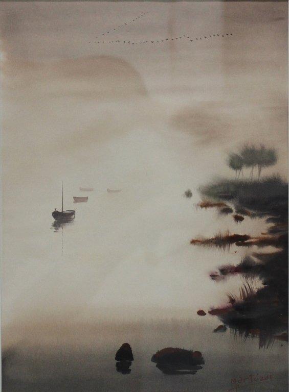 72: Mariano Ortuzar Watercolor - 2