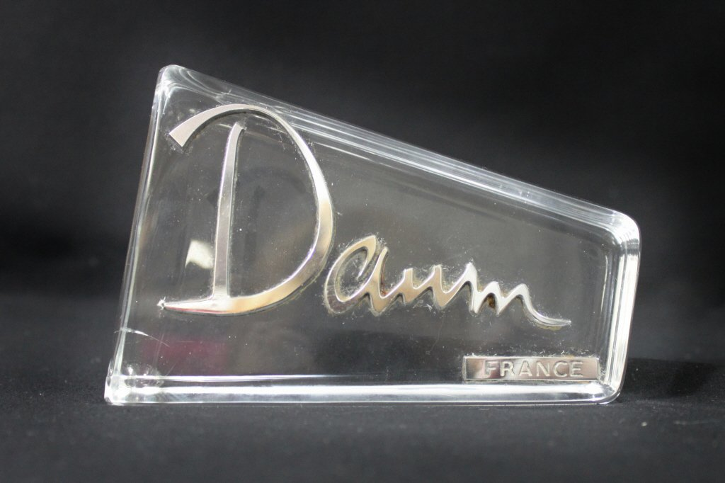 2: Daum France Crystal Display Plaque