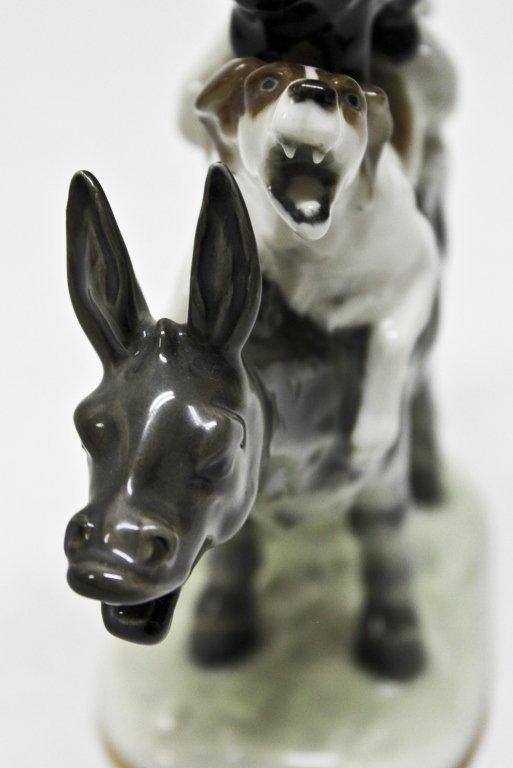 74: Hutschenreuther Musician's of Bremen Figurine - 5