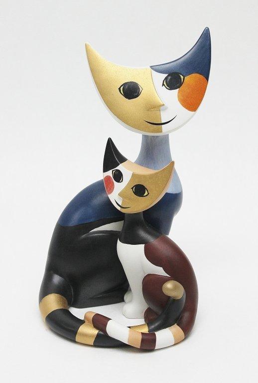 75: Rosina Wachtmeister Goebel Cats. Angelo & Angelica