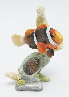 Boehm, England Bone Porcelain Clown Fish