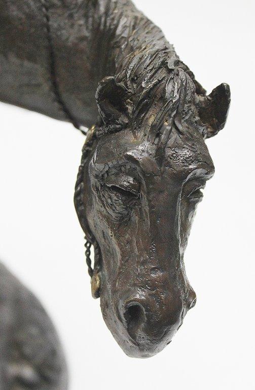 "83: Charles Bragg Bronze Sculpture ""Don Quixote"" - 4"