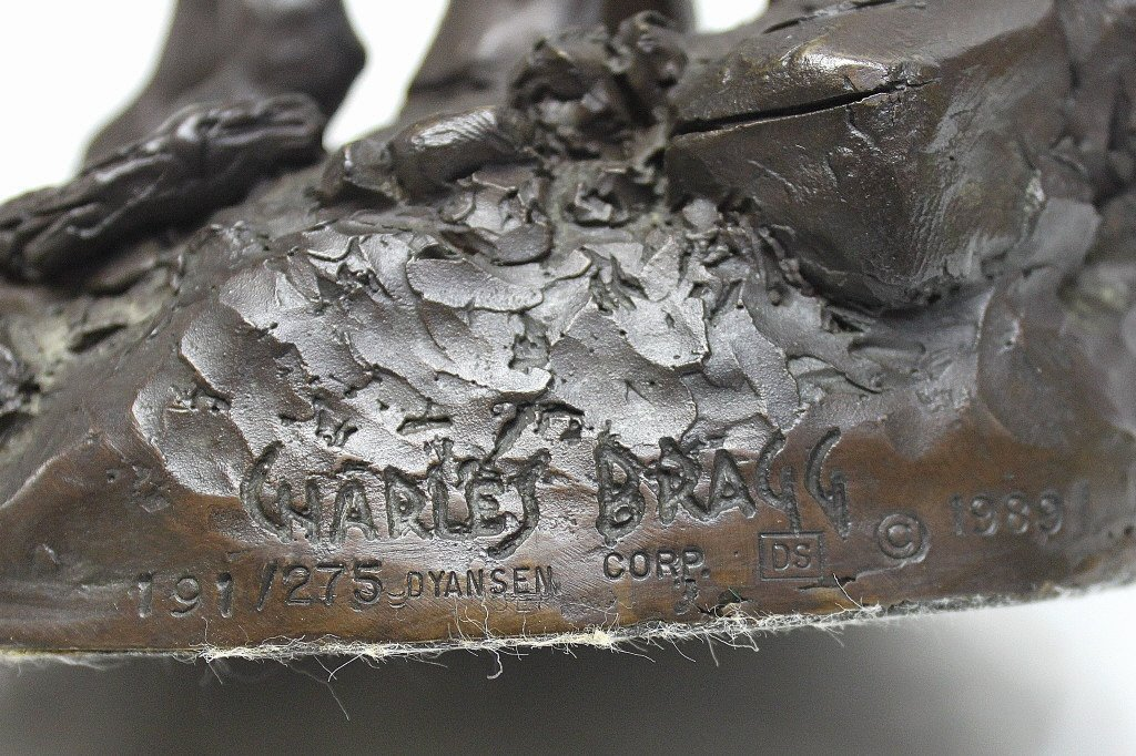 "83: Charles Bragg Bronze Sculpture ""Don Quixote"" - 8"