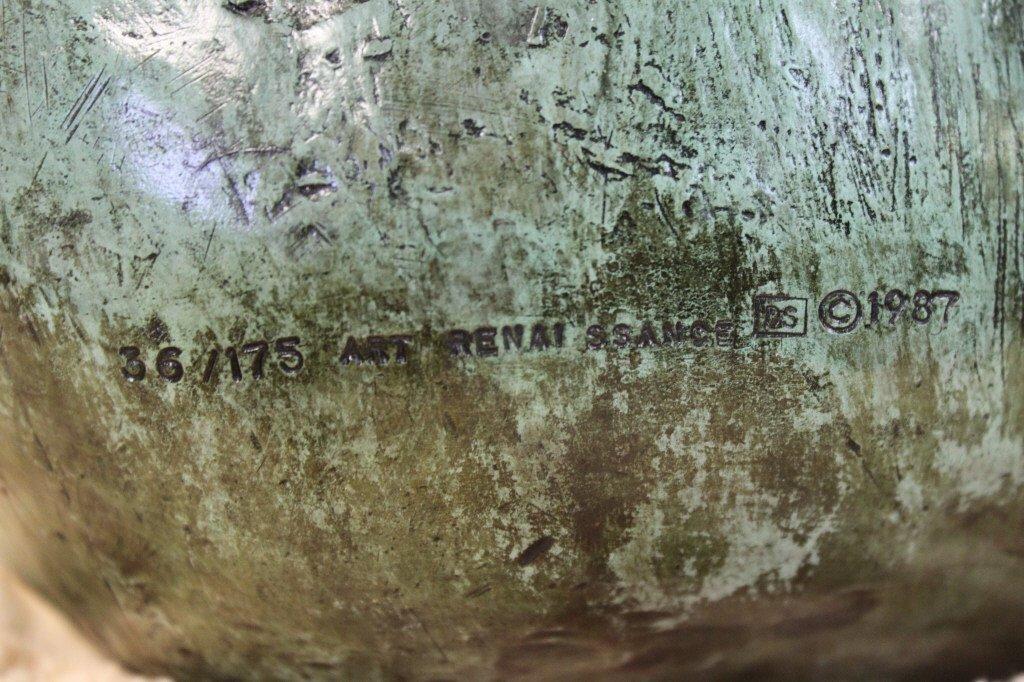 "86: Angelo Basso Bronze Sculpture, ""Companions"" - 9"