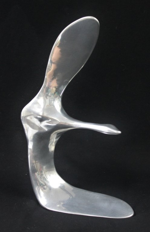 89: Hoselton Canada  Aluminum Seagull Sculpture