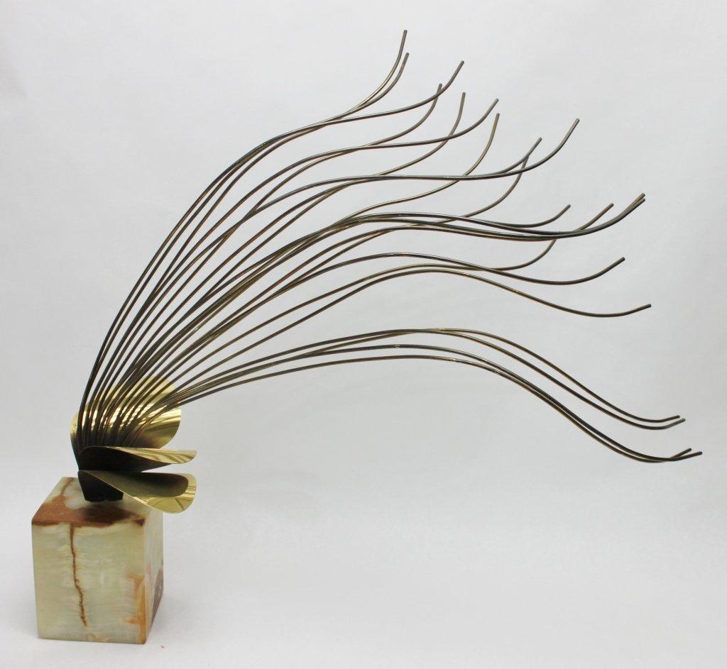 92: Bronze Curtis Jere Seagrass Sculpture