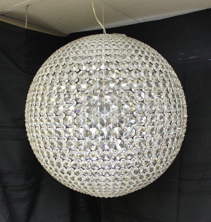 "118: Schonbek  Swarovski Crystal ""da Vinci"" Chandelier"
