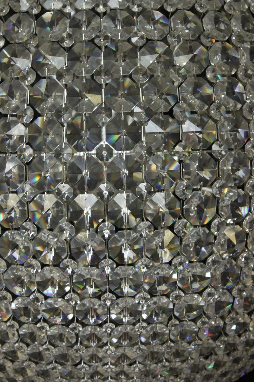 "118: Schonbek  Swarovski Crystal ""da Vinci"" Chandelier - 3"