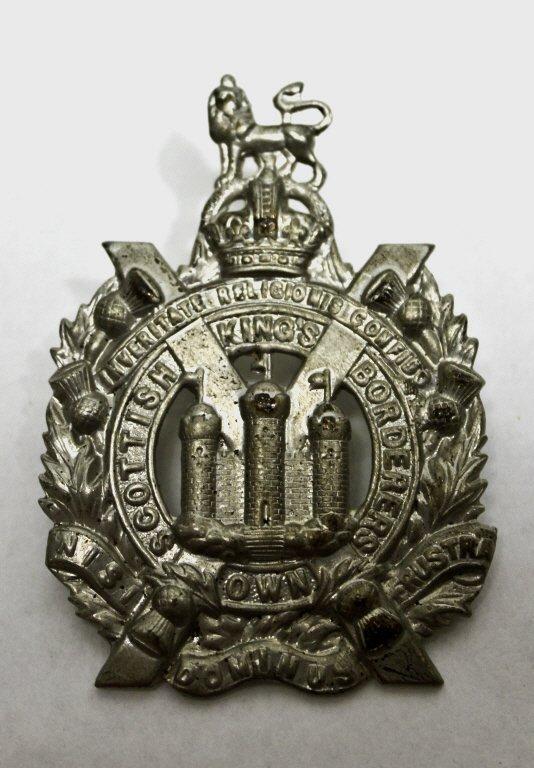 319: King's Own Scottish Borderer's Cap Badge