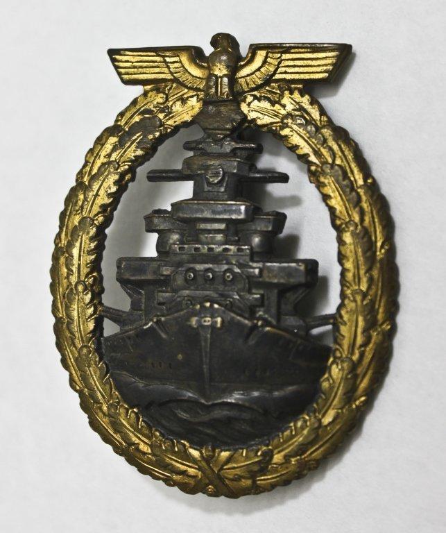 320: WWII German High Seas Fleet Badge