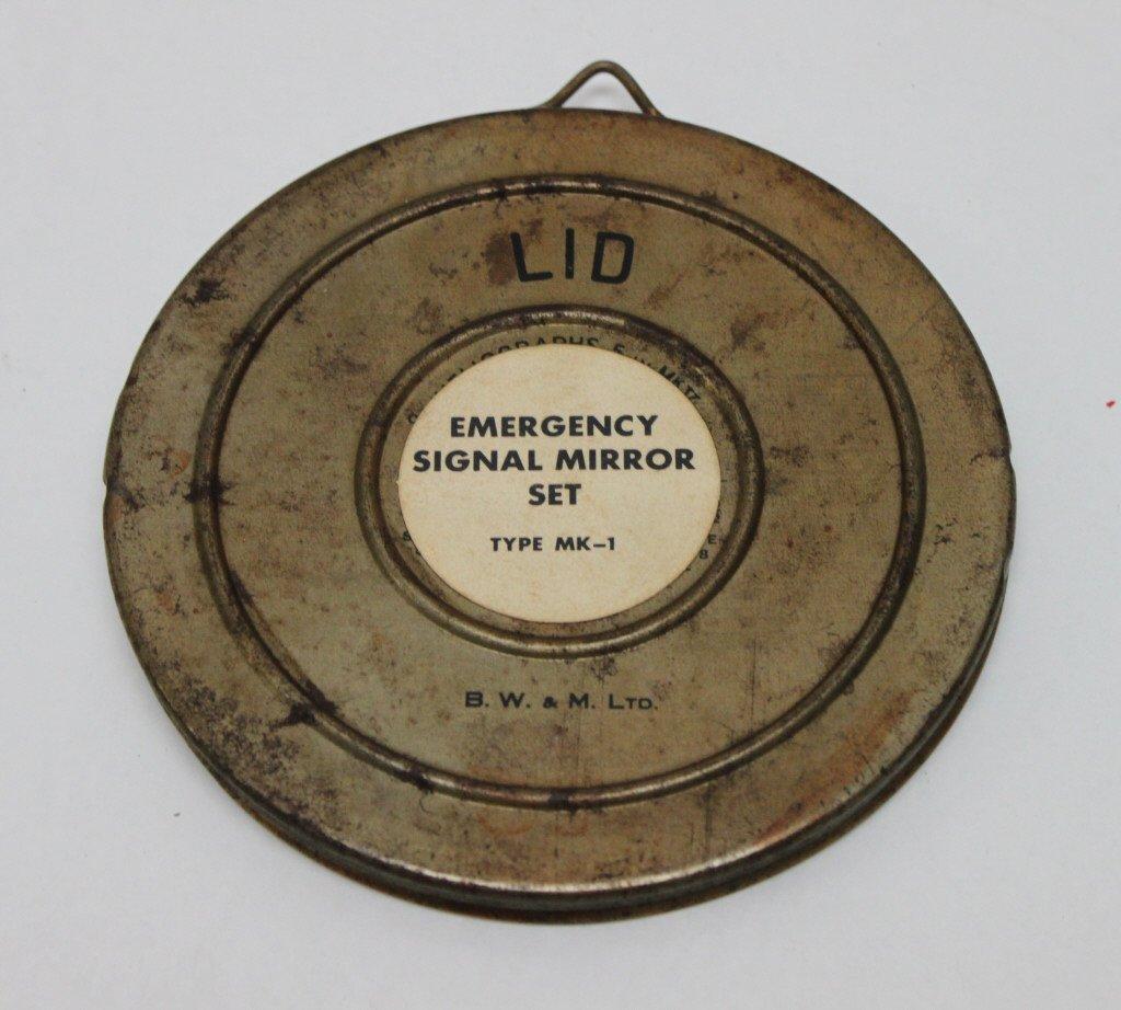 323: World War II Emergency Signal Mirror Kit