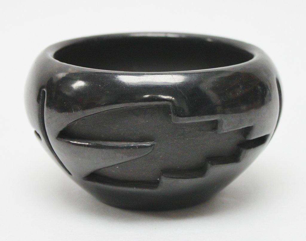 18: Teresita Naranio Santa Clara Pueblo Bowl