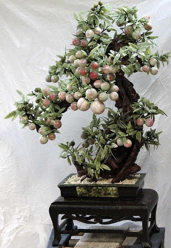 119: White & Green Jade Plum Tree