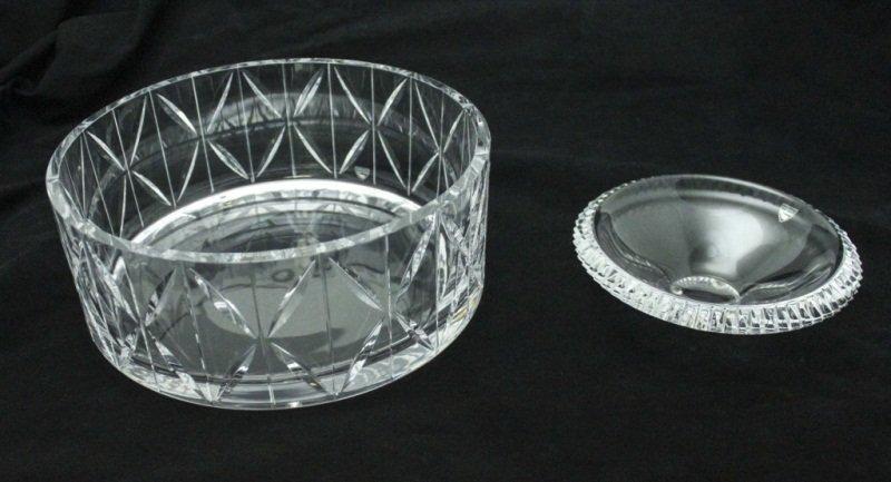 (2) Orrefors Crystal Bowls