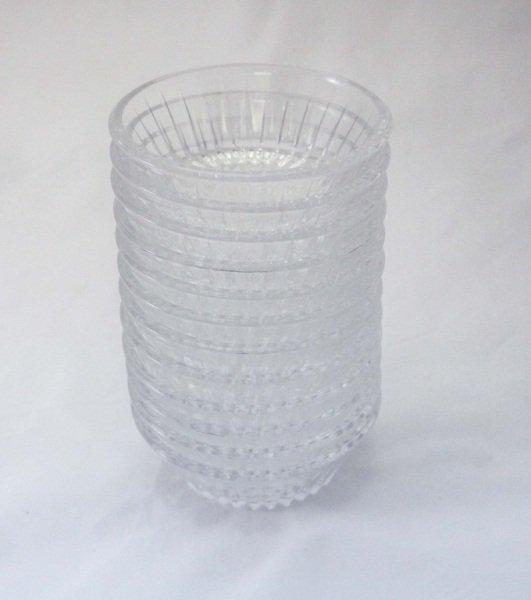 (12) Val St. Lambert Crystal Bowls