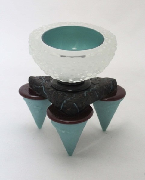 """Molly Stone """"Geode"""" Sculpture"""