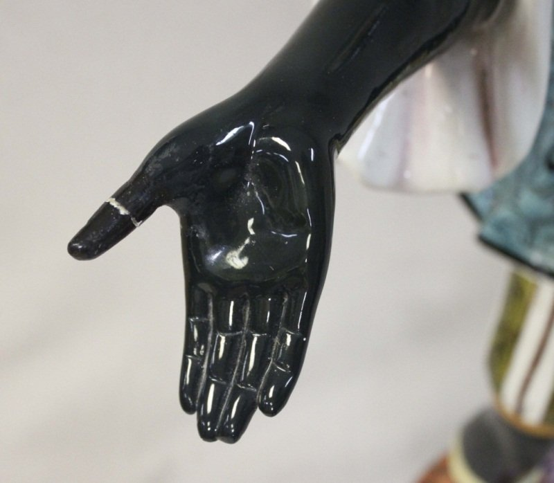 Italian Blackamoor Woman Garden Statue - 4