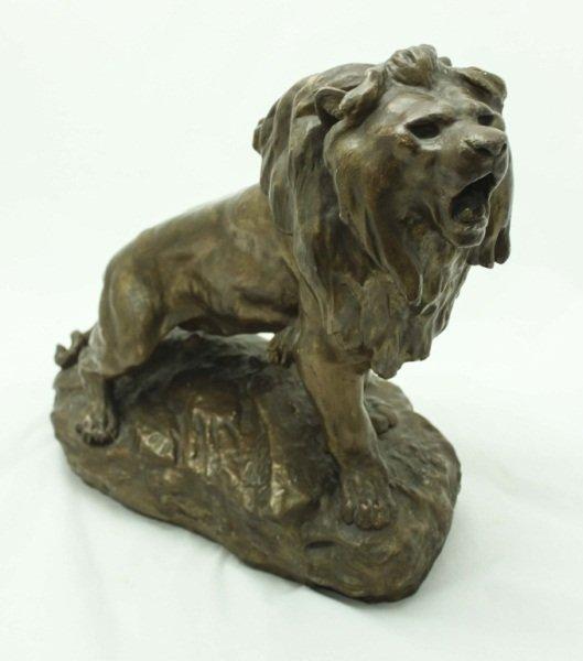 Attr. T. Cartier Cast Lion