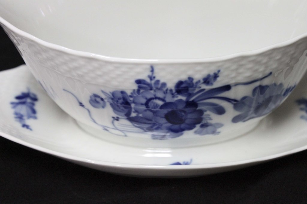 Royal Copenhagen China Blue Flowers Braided 120pc - 8