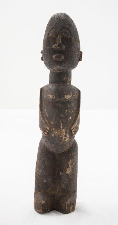 Antique African Carved Figure Bobo, Burkina Faso