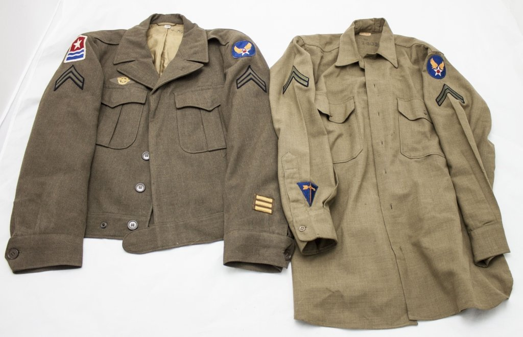 WWII US Air Force Jacket, Tunic Size Large
