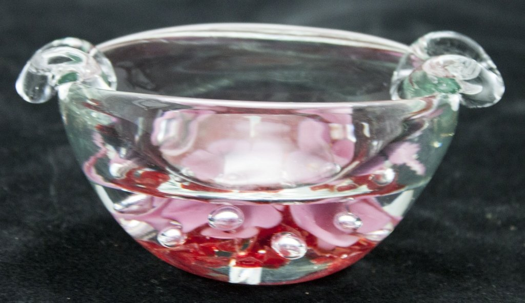 Joe St. Clair Art Glass Ash Tray