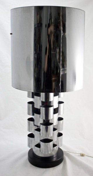 Jere' Mid Century Modern Chrome Table Lamp