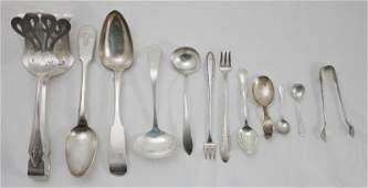 12 Sterling Silver Serving Pieces