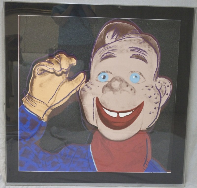 Howdy Doody from (Myths 1981) by Andy Warhol