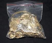 144 dwt Bag Of Assorted Scrap 14k Gold Pieces