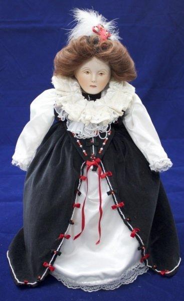 "Franklin Mint Heirloom Collection ""Queen Elizabeth"