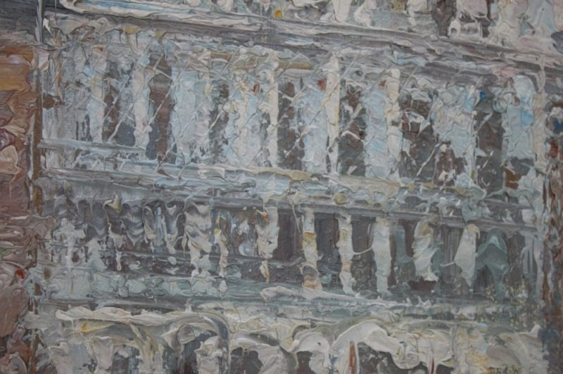 Impressionist Painting of Venice sg W. Knight - 2