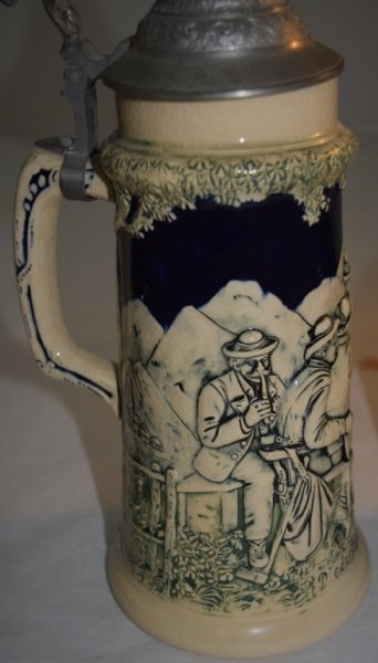 3 Beer Steins 2 Gerz  Arts & Crafts 1 Traditional - 3