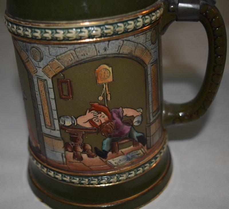 3 Beer Steins 2 Gerz  Arts & Crafts 1 Traditional - 8