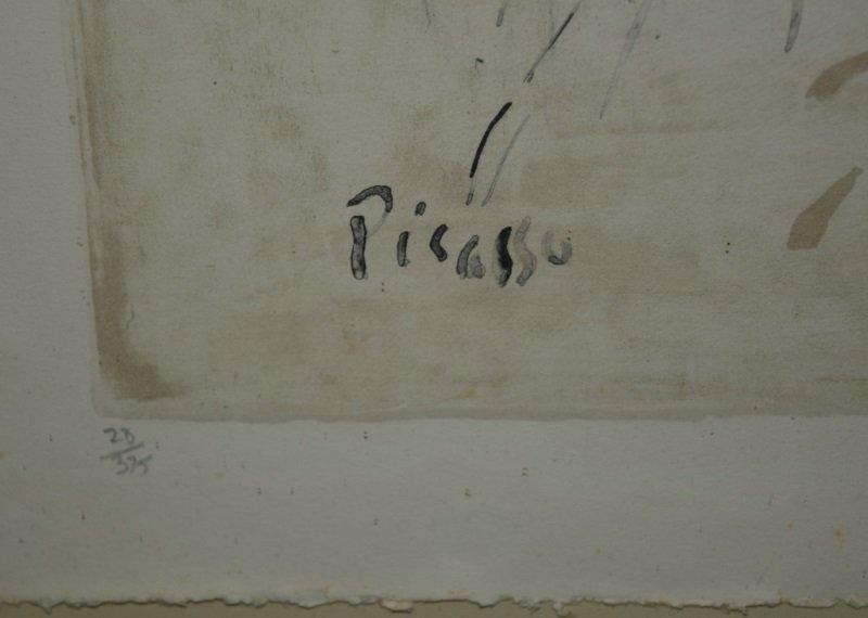 Pablo Picasso Lithograph Harlequin on Horseback - 4