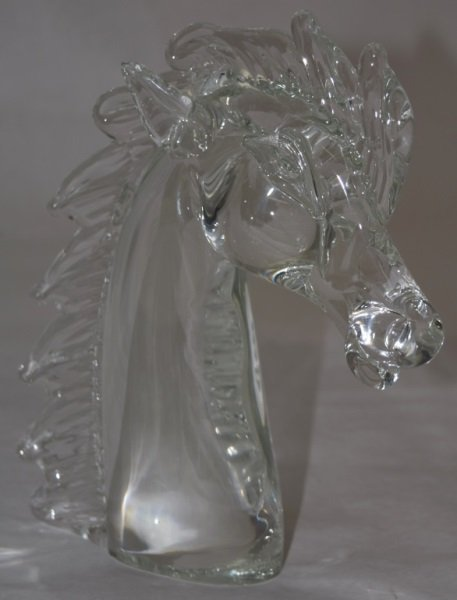 Licio Zanetti Murano Art Glass Horse Sculpture - 2