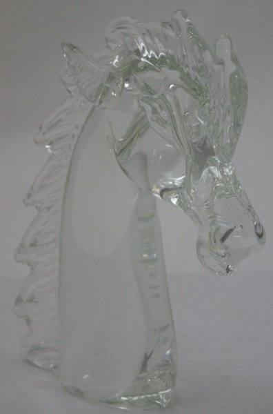 Licio Zanetti Murano Art Glass Horse Sculpture - 3