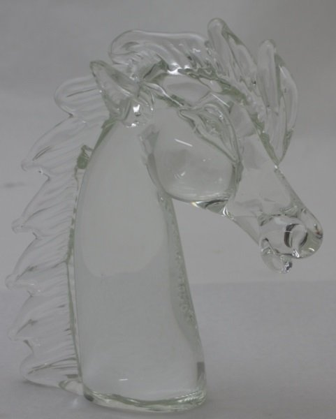 Licio Zanetti Murano Art Glass Horse Sculpture - 4
