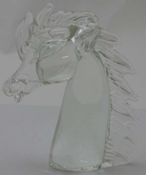 Licio Zanetti Murano Art Glass Horse Sculpture - 6
