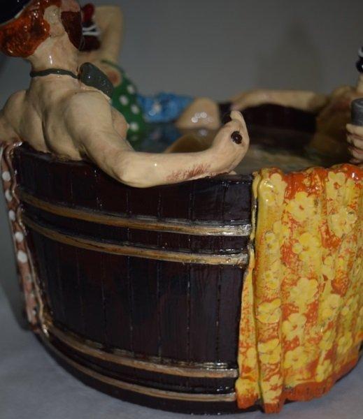 """Ron Lee """"Rub-A-Dub-Dub Three Men in a Tub"""" Statue - 3"""