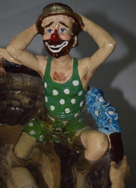 """Ron Lee """"Rub-A-Dub-Dub Three Men in a Tub"""" Statue - 7"""