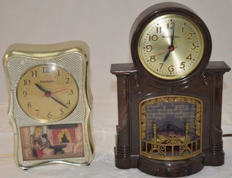 Fireplace Clock & Blacksmith Clock