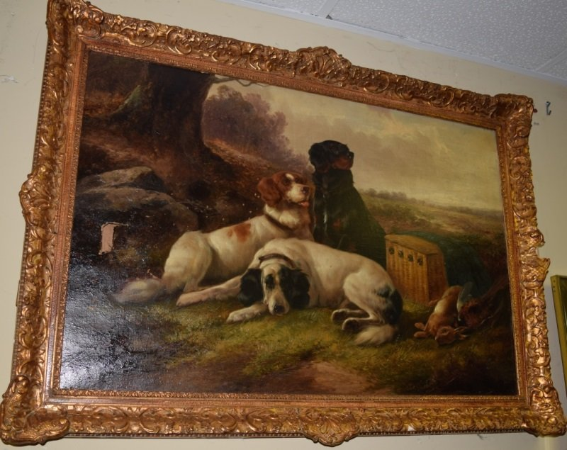 John Gifford d1900 English Setters After the Hunt