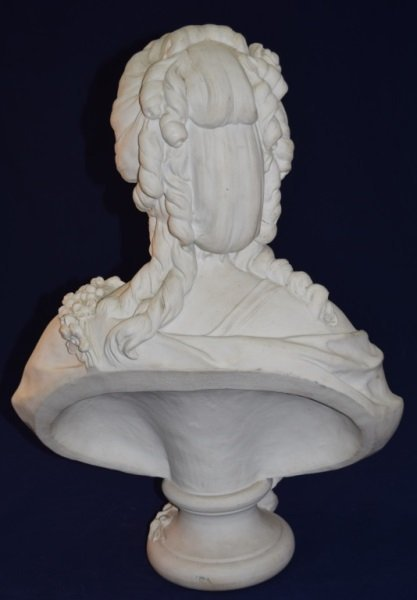 19C French Portrait Bust Princess de Lamballe - 2