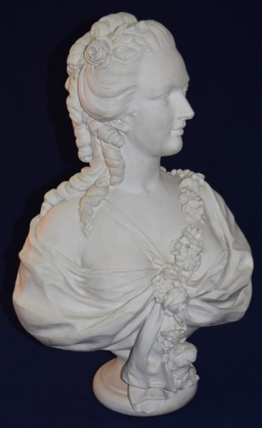 19C French Portrait Bust Princess de Lamballe - 3